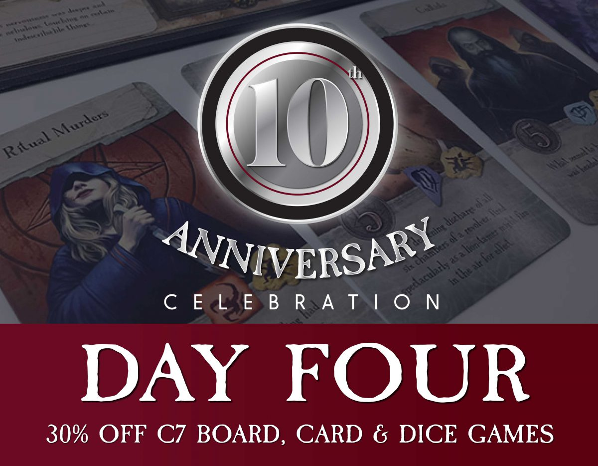 Day 4 – Board, Card & Dice Game Sale!