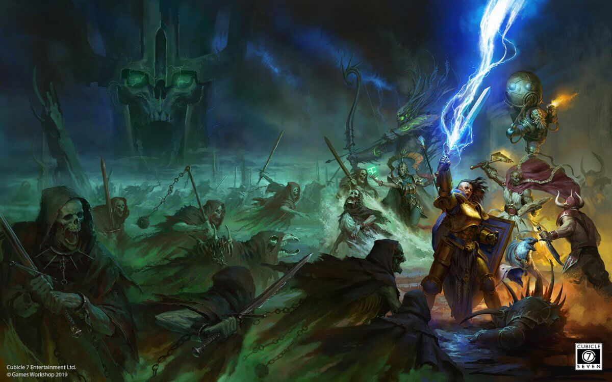 Age of Sigmar Cover Art