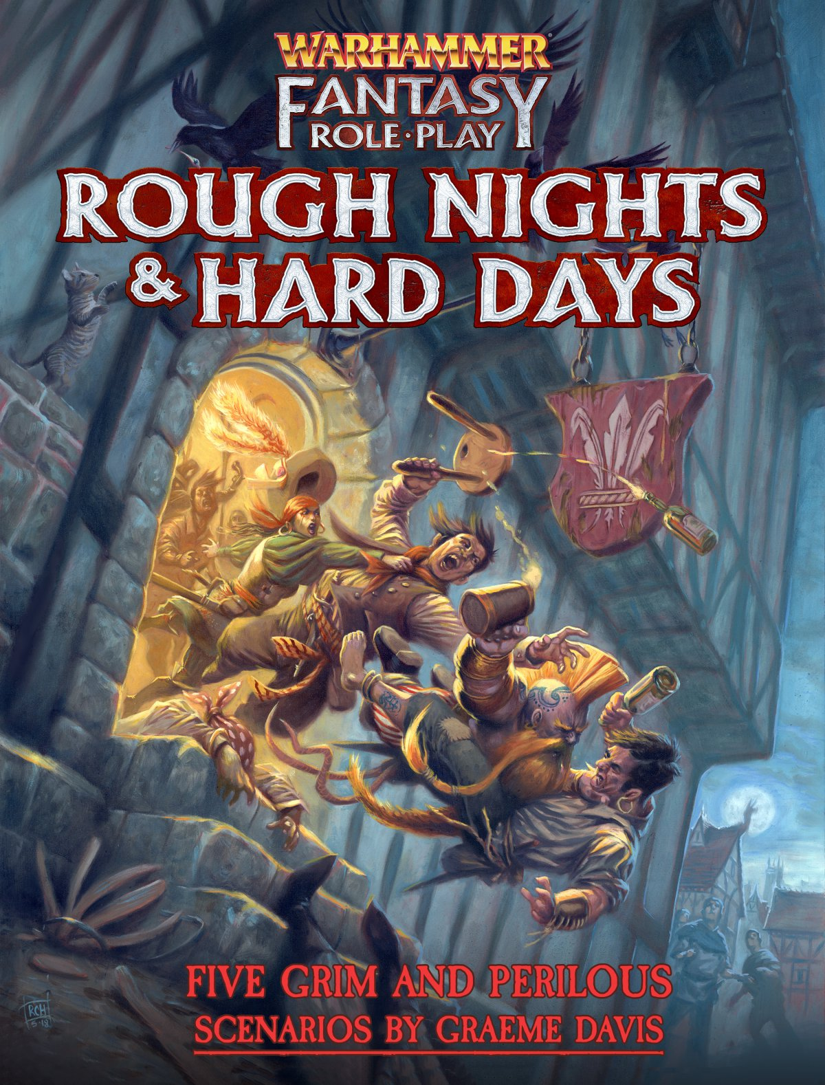 Pre-Order WFRP Rough Nights & Hard Days Now!