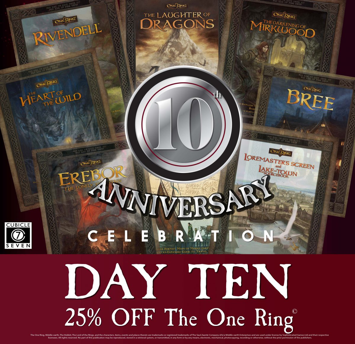 Day 10 25% off The One Ring