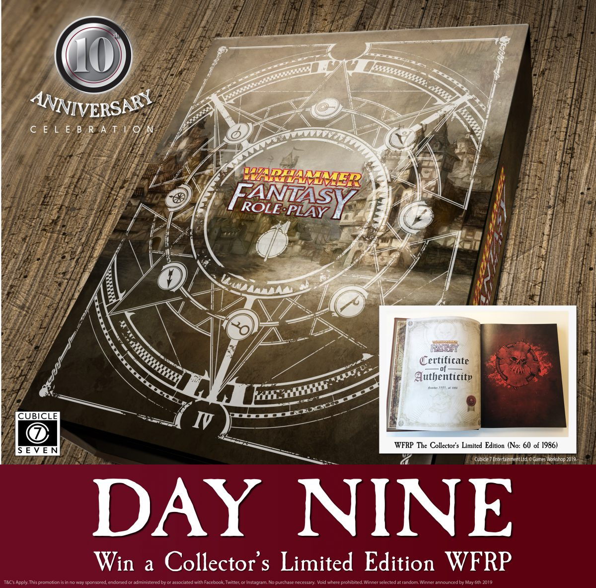 Win a Limited Edition Warhammer Fantasy Roleplay!