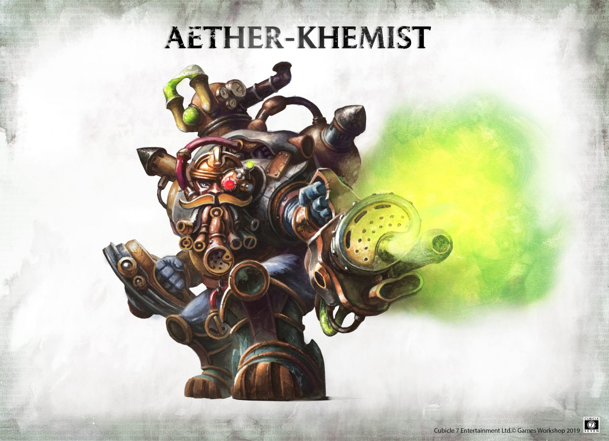 Age of Sigmar Soulbound: Aether-Khemist