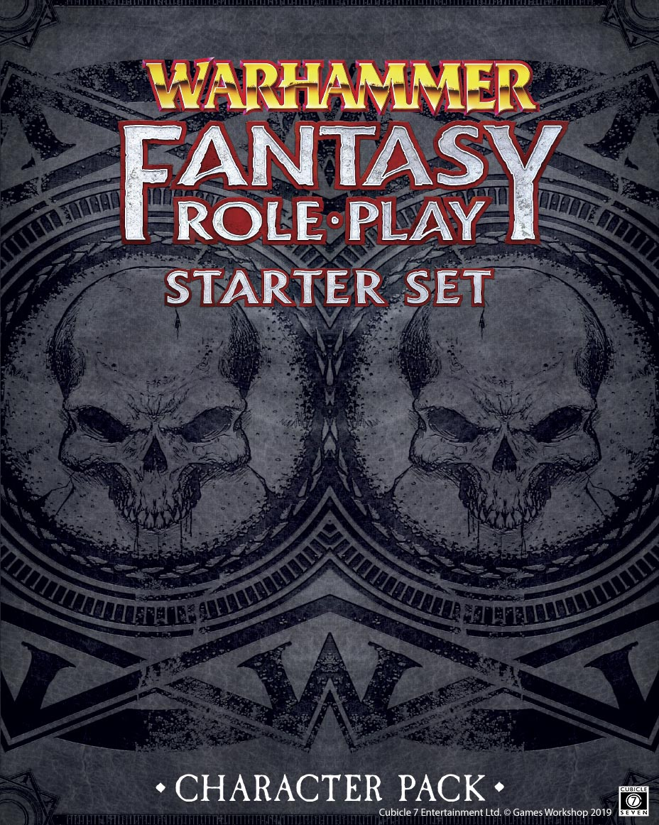 WFRP: Starter Set Character Pack Free Download