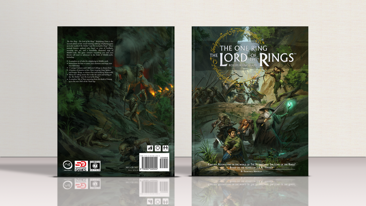 The One Ring Standard Edition Pre-Order Live! – Cubicle 7