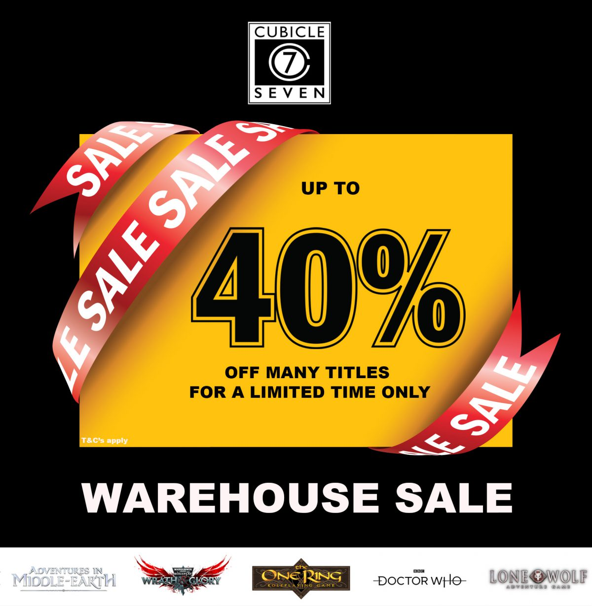 C7 Warehouse Sale: Up to 40% off!