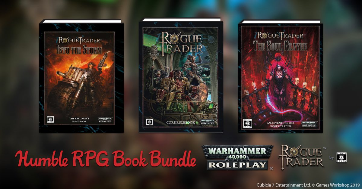 Humble Bundle: Warhammer 40,000 Rogue Trader Now Live!