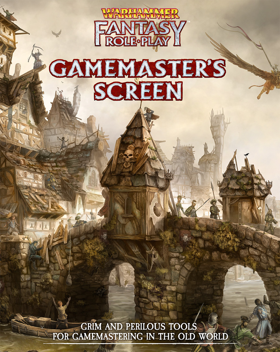 Gamemaster Screen: Warhammer Fantasy Roleplay Fourth Edition -  Cubicle 7 Entertainment Ltd