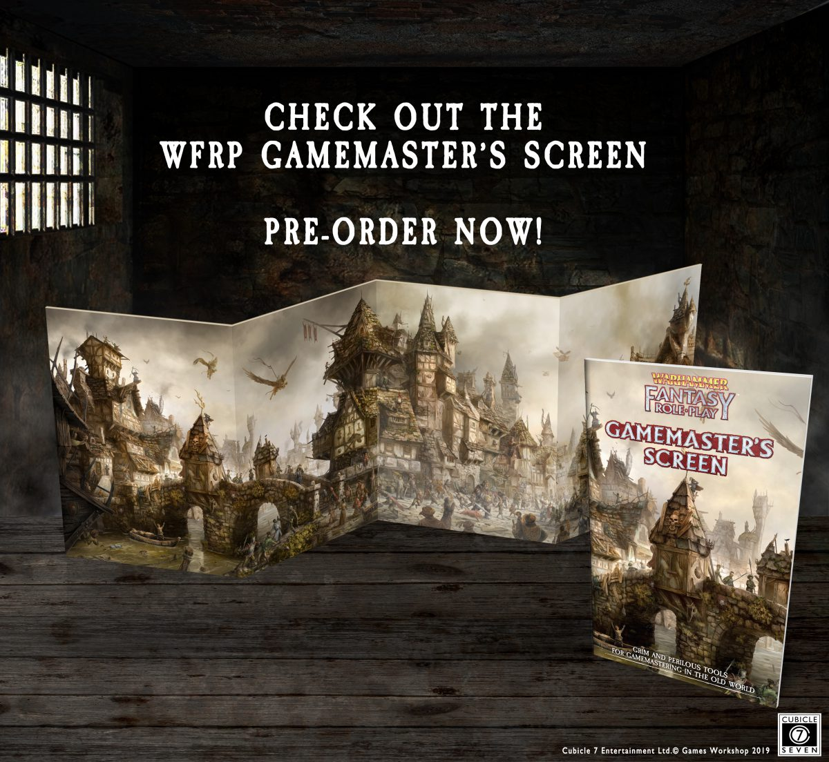 The Gamemaster's Screen and Gamemaster's Guide