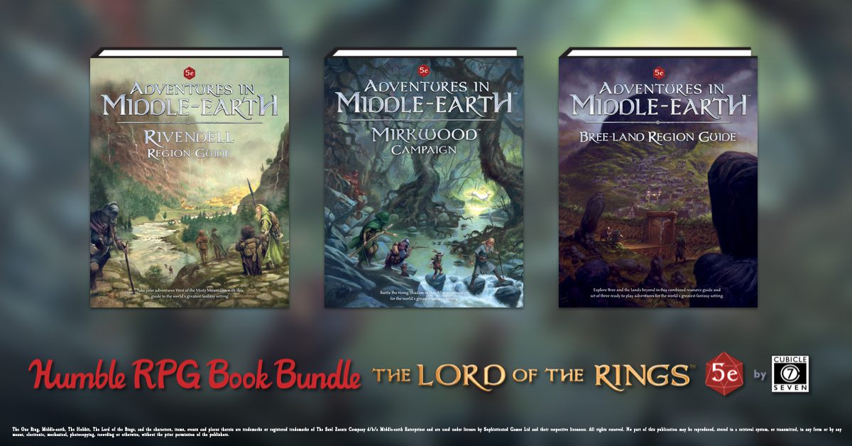 LOTR Humble Bundle Ends Very Soon!
