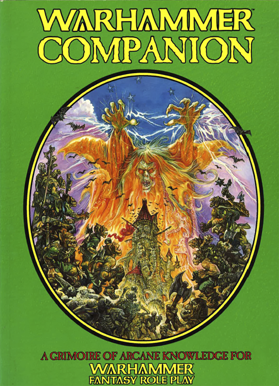 Warhammer Companion 1st Ed PDF available