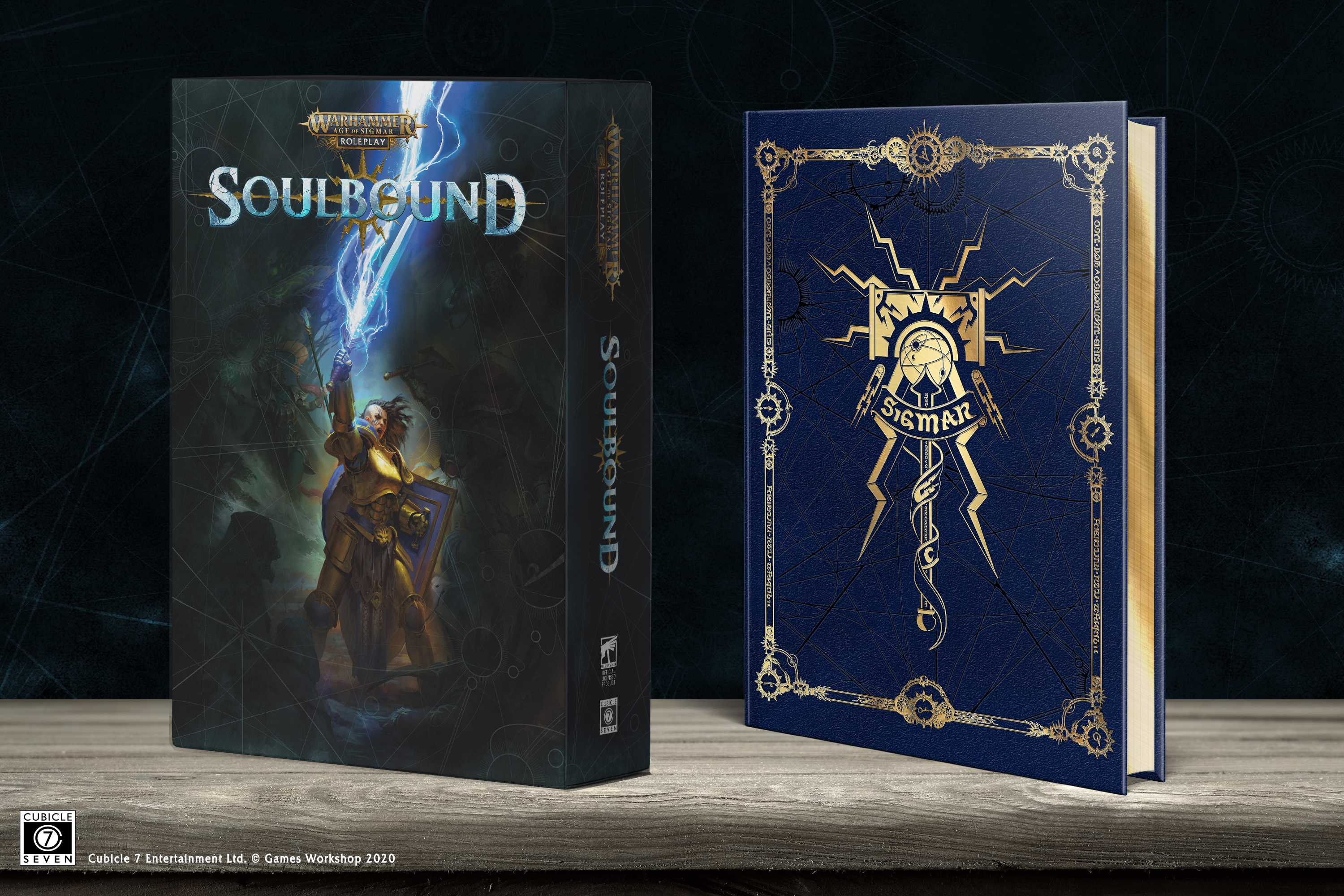 Warhammer Age of Sigmar: Soulbound Rulebook Collector's Edition