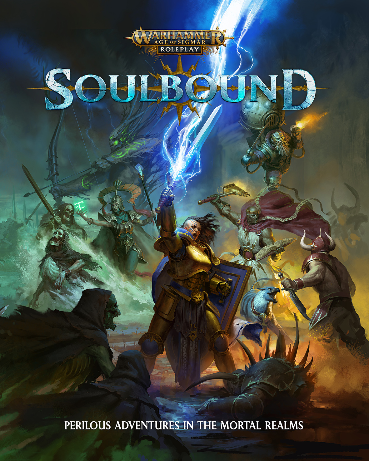 Soulbound: Warhammer Age of Sigmar Roleplay -  Cubicle Seven