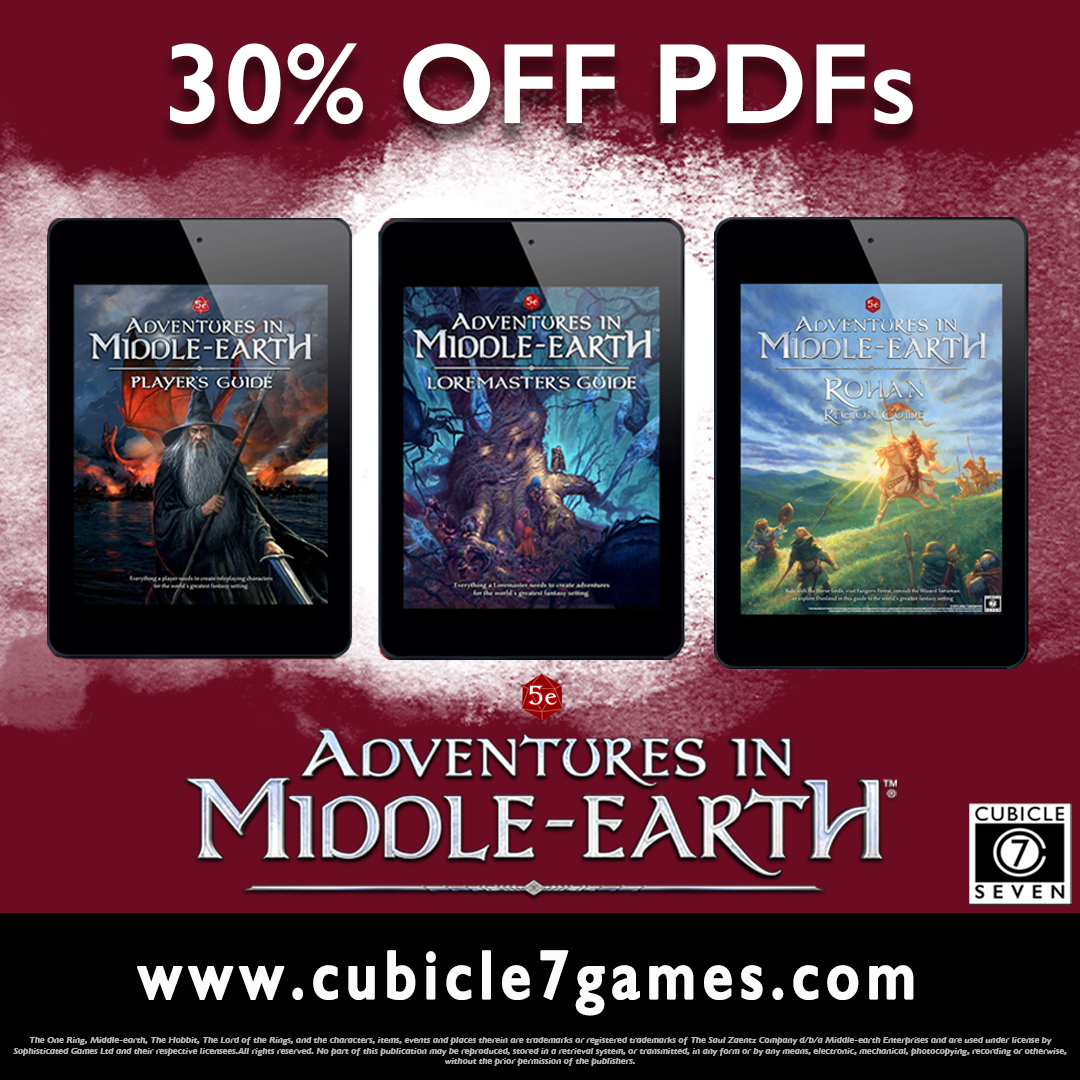 The One Ring™ & Adventures in Middle- earth™ – up to 50% Off!