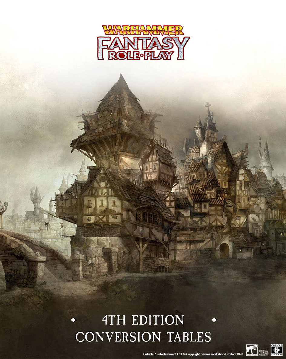 Conversion Tables for Warhammer Fantasy Roleplay – Free PDF