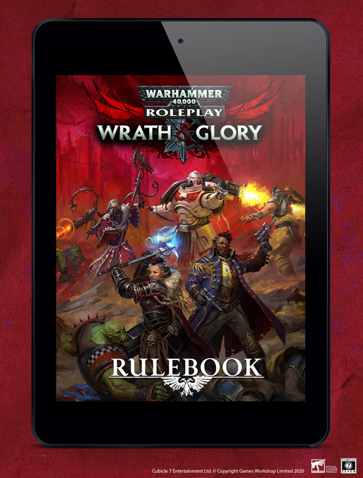 Wrath & Glory Errata Out Now!