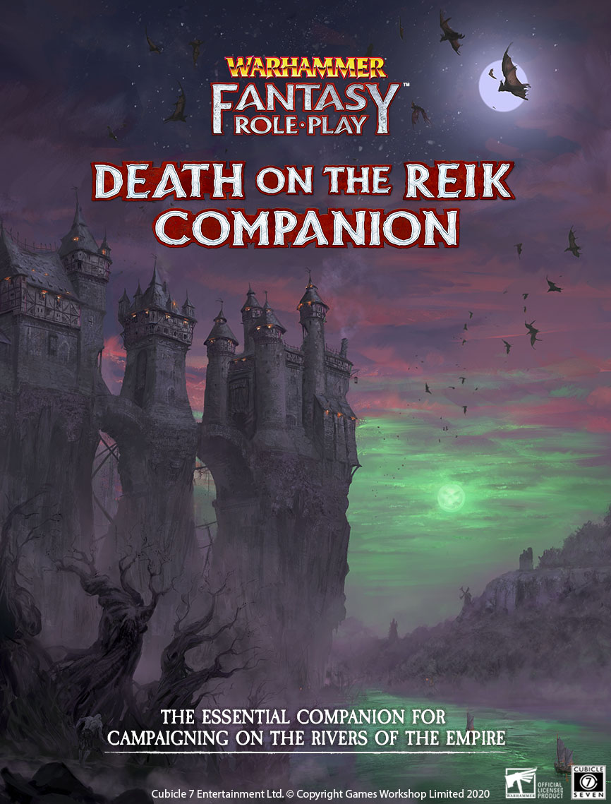 Enemy Within Campaign: Volume 2 — Death on the Reik Companion Art Reveal