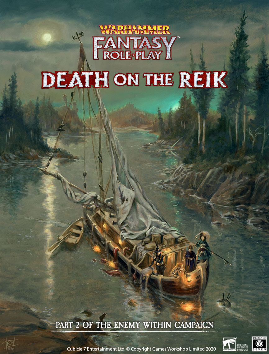 WFRP: Death on the Reik PDF Out Now!