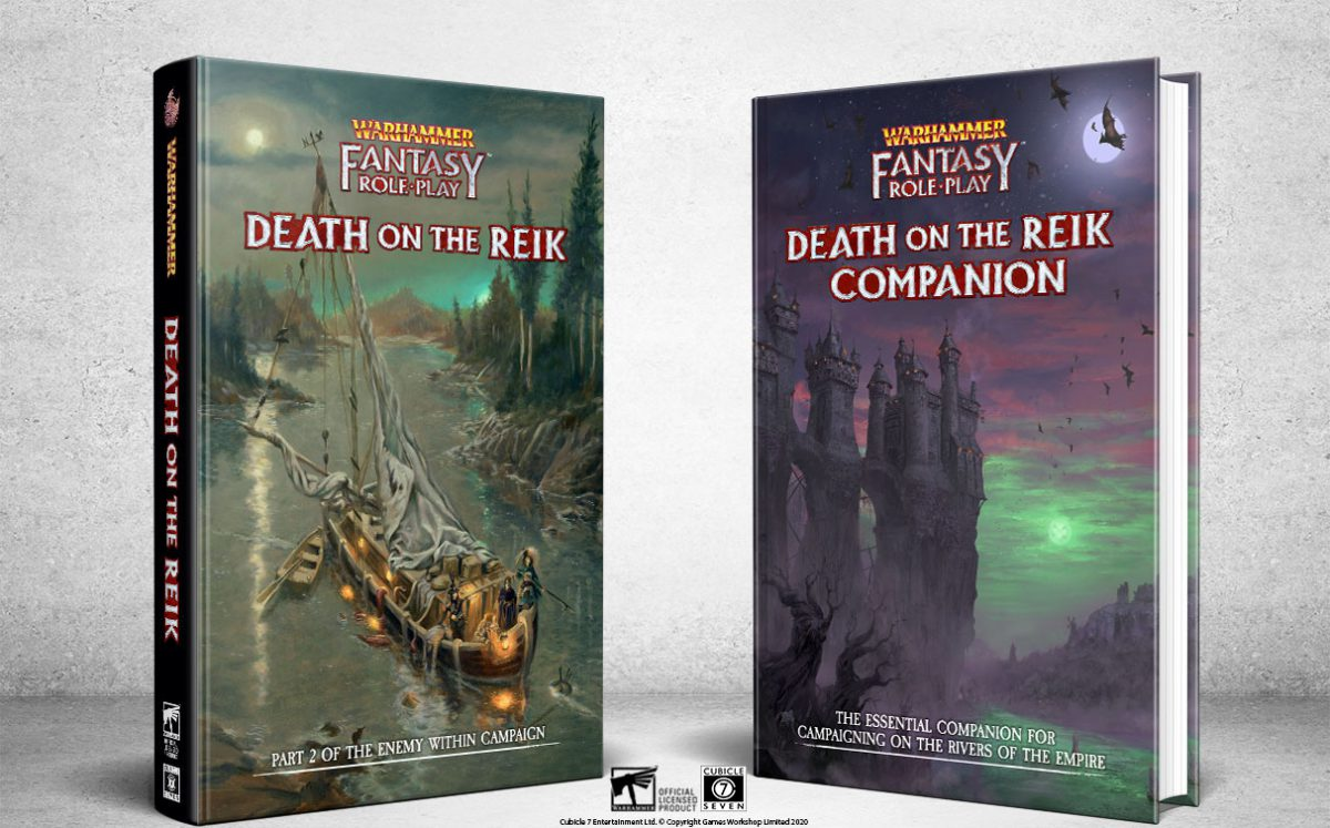 WFRP Death on the Reik Companion Updated Files!