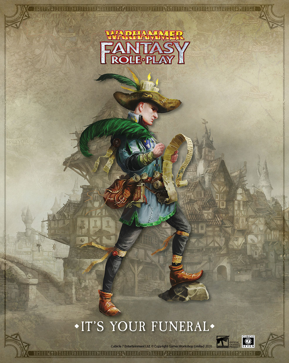 Warhammer Fantasy Roleplay: It's Your Funeral PDF Release!
