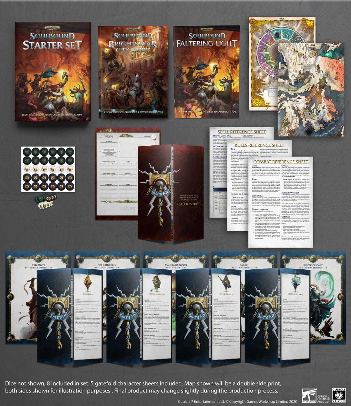 AoS: Soulbound Starter Set – What's in the box?