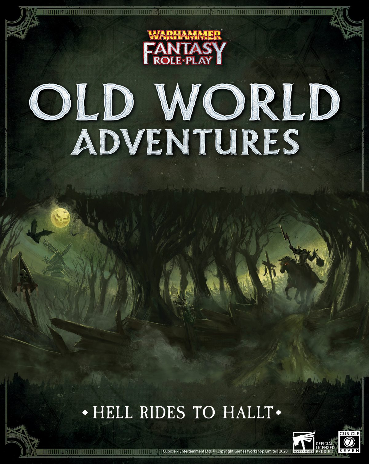 WFRP: Hell Rides to Hallt PDF Coming Soon!