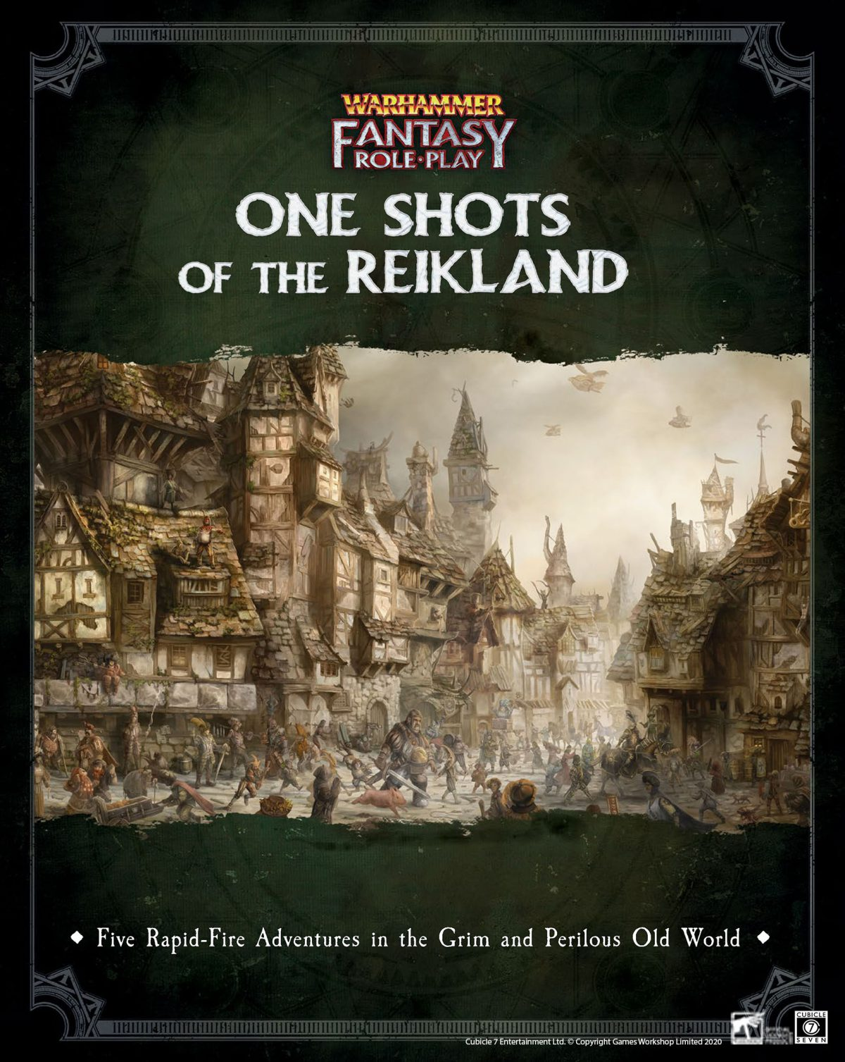 WFRP: One Shots of the Reikland PDF Out Now!