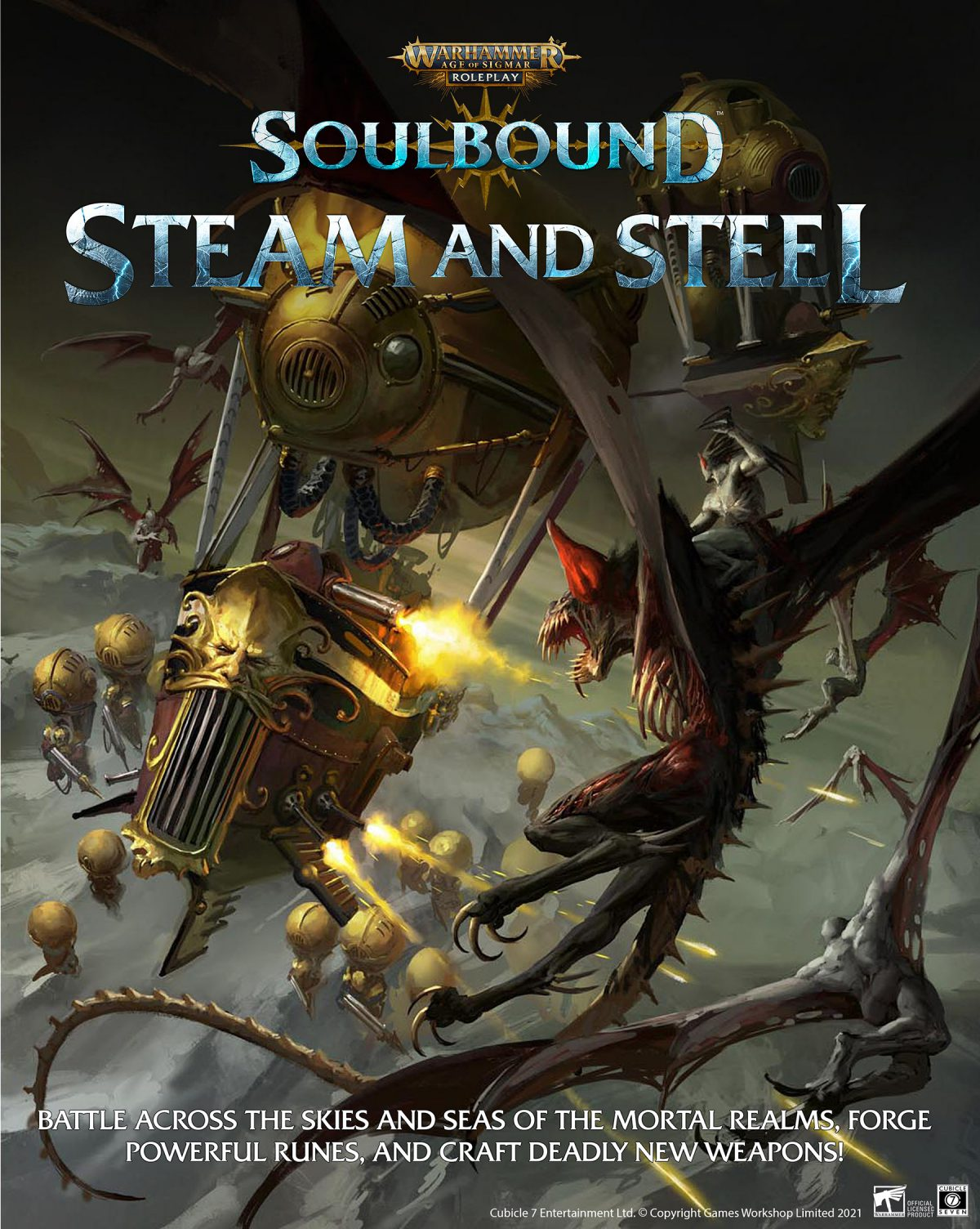 Age of Sigmar: Steam and Steel – Coming Soon