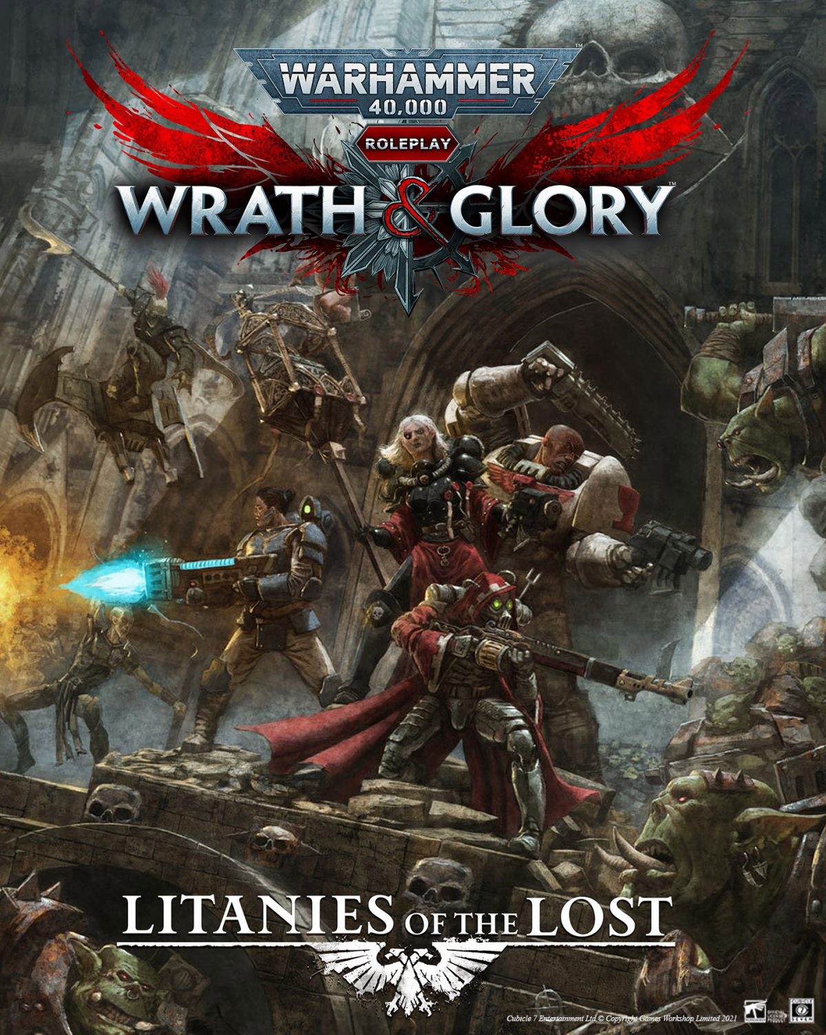 40k Litanies of the Lost Complete PDF Out Now!