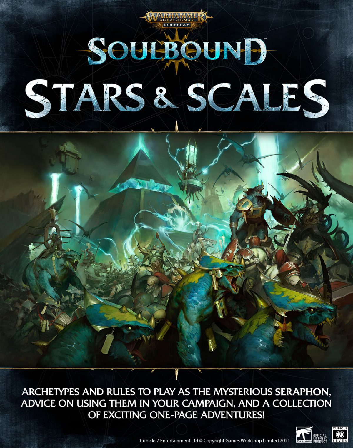 Warhammer Age of Sigmar Soulbound: Mysterious Seraphon!