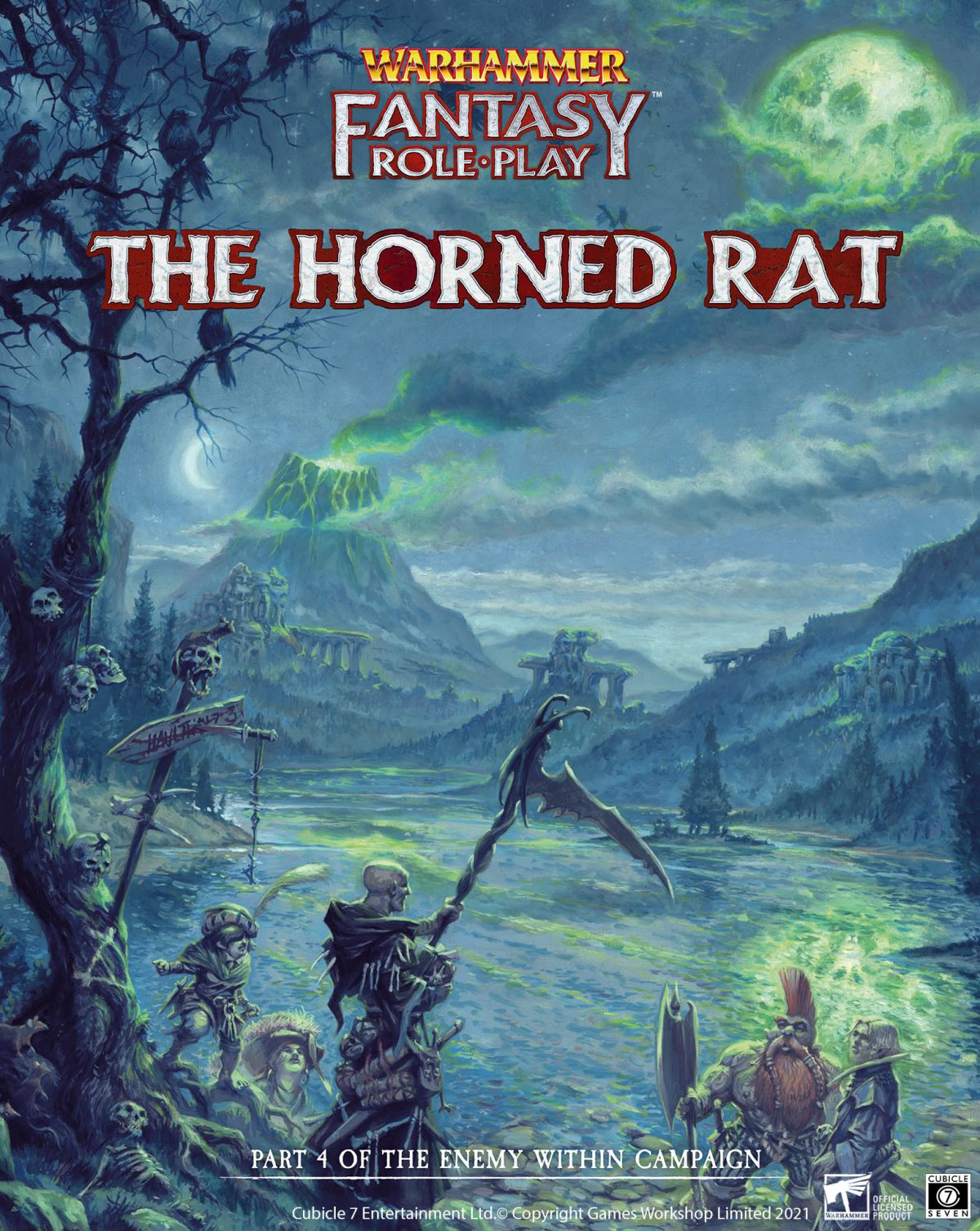 Horned Rat Interview with WFRP Producer Pádraig Murphy
