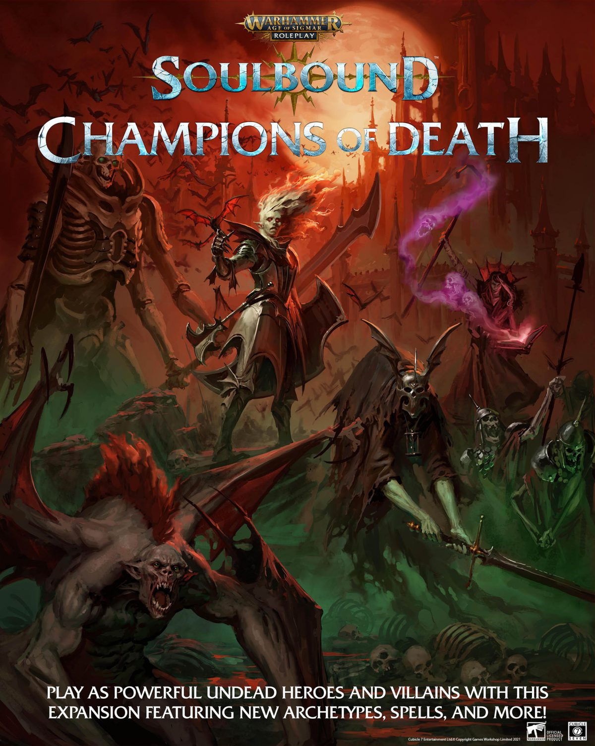 AoS: Soulbound, Champions of Death