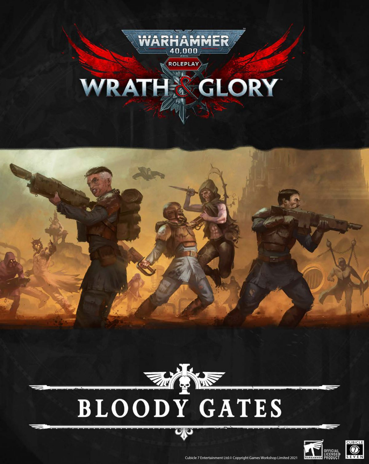 Get the Latest Wrath & Glory Releases!