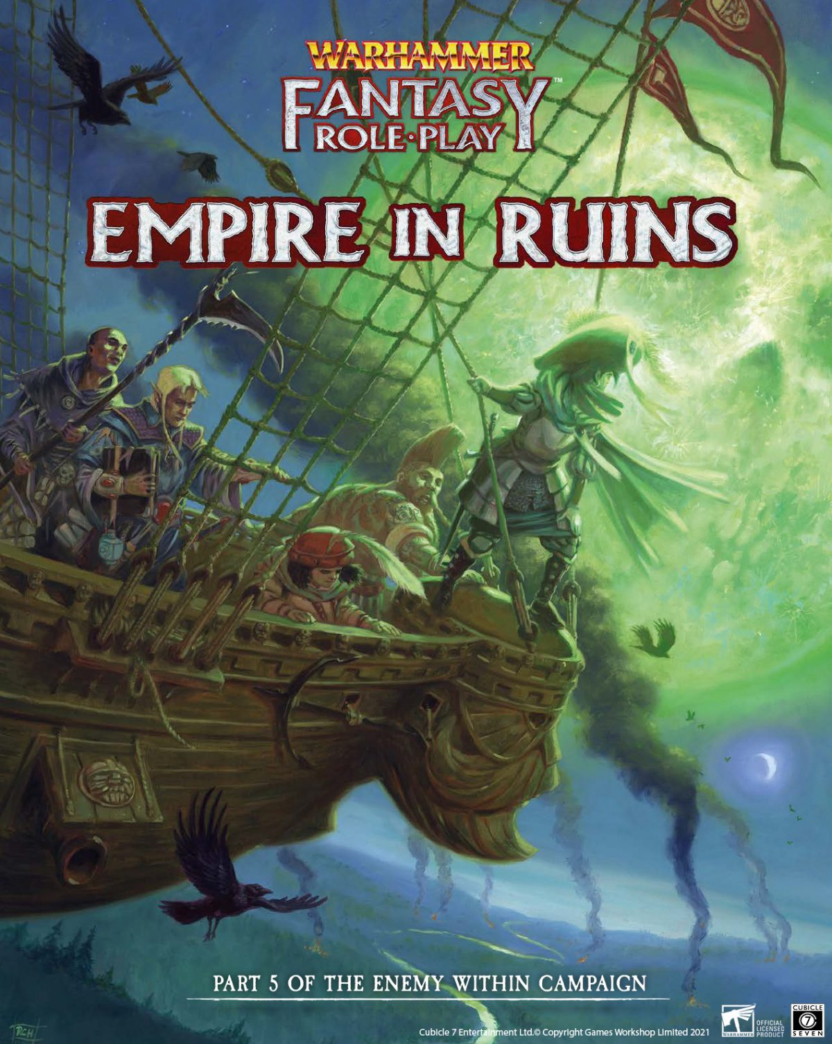 New Releases this week for WFRP & Soulbound!