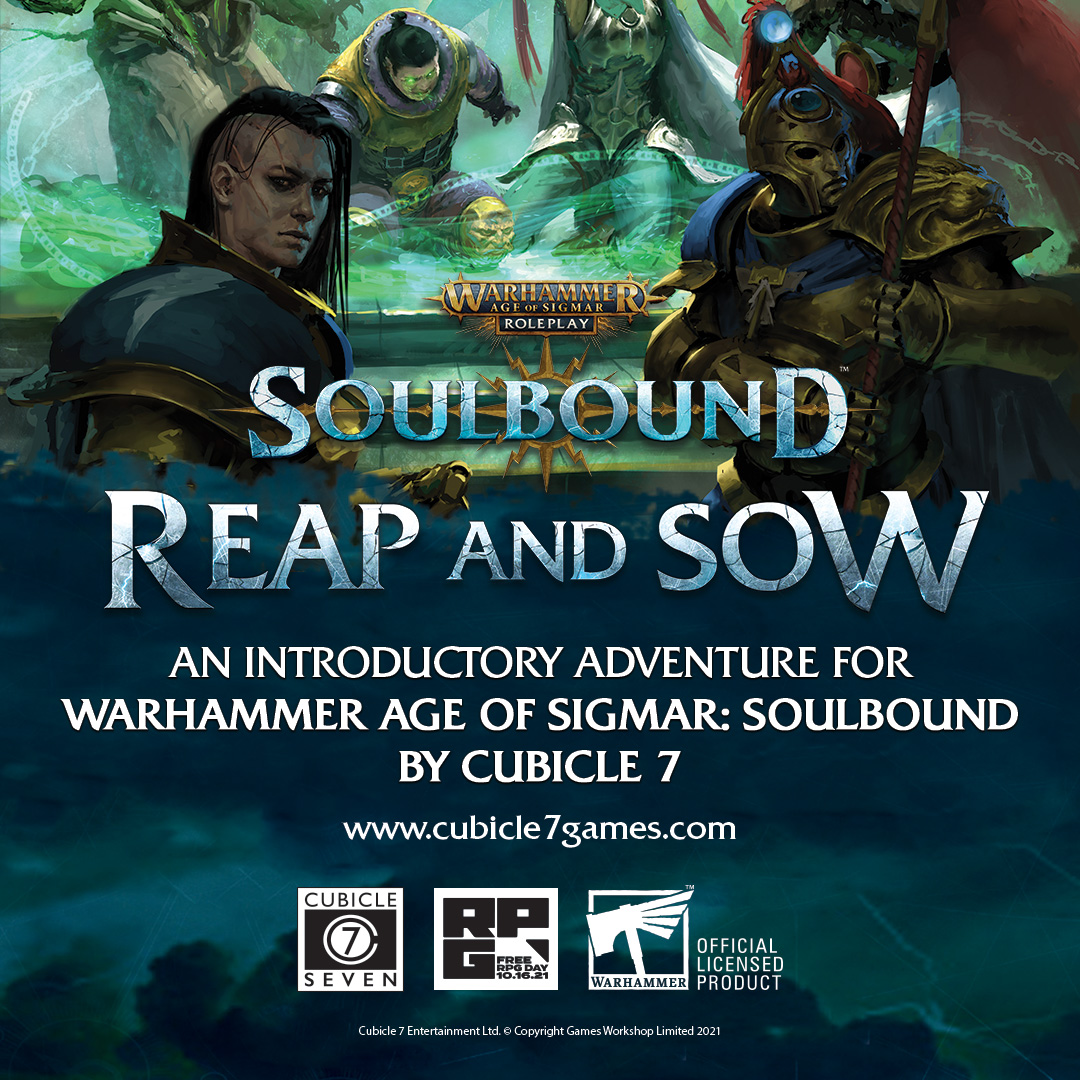 FREE RPG DAY – SOULBOUND ADVENTURE